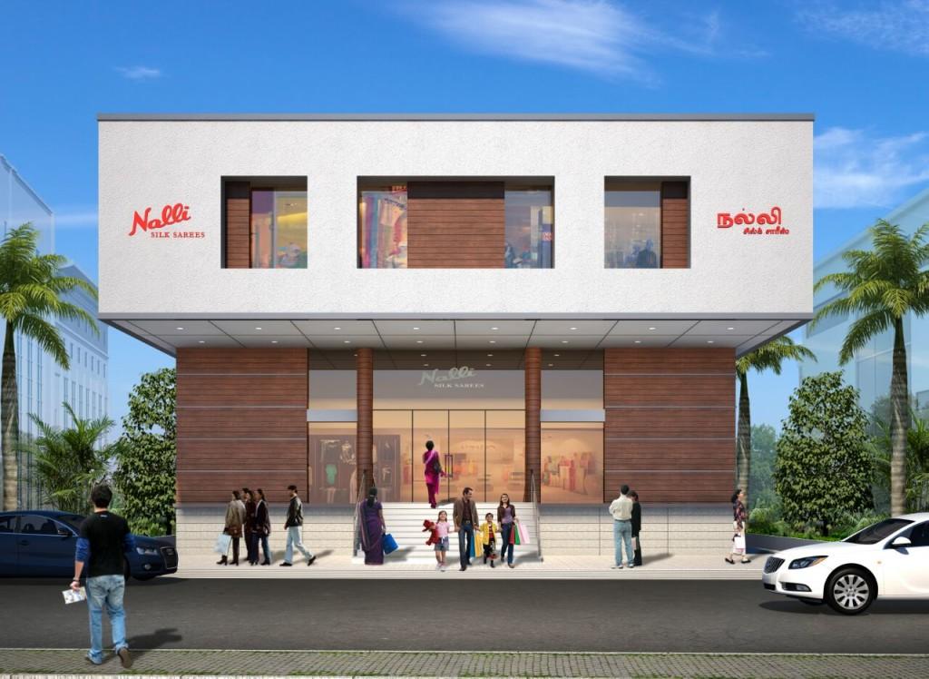 Proposed building - Nalli silks sarees at Mylapore